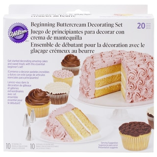 Cake Decorating Set 20pc