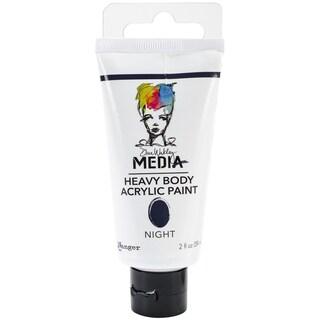 Dina Wakley Media Heavy Body 2oz Acrylic Paints-Night