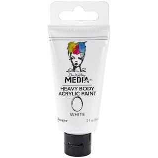 Dina Wakley Media Heavy Body 2oz Acrylic Paints-White