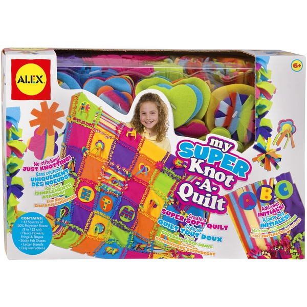 My Super Knot-A-Quilt Kit 13276300
