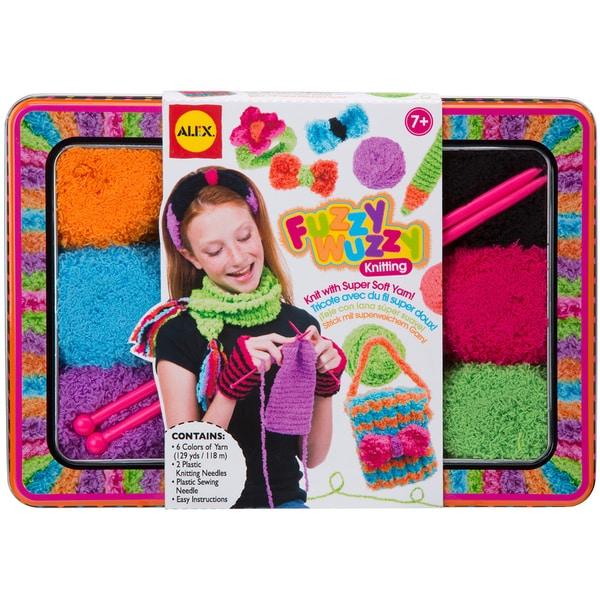 Fuzzy Wuzzy Knitting Kit