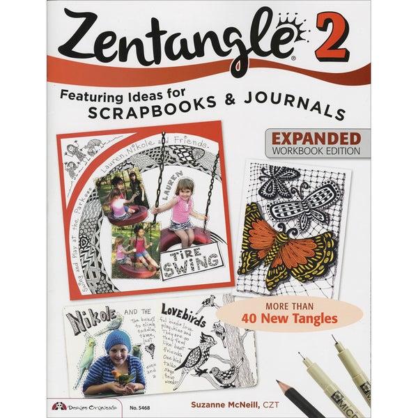 Design Originals-Zentangle 2 Expanded Workbook Edition
