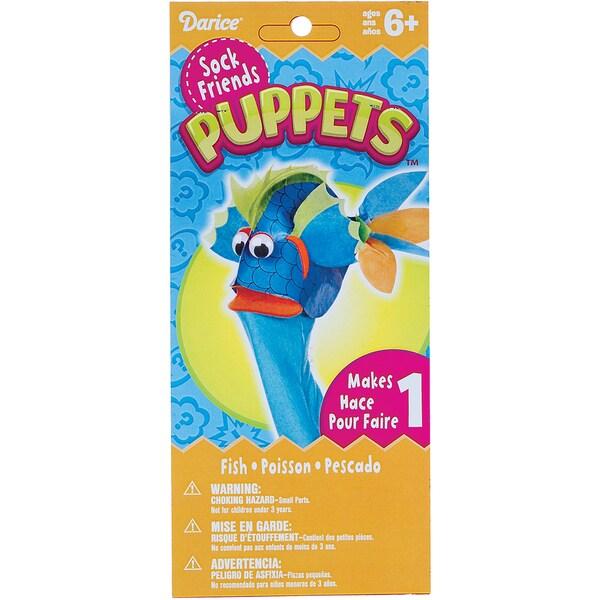Sock Puppet Kit-Fish