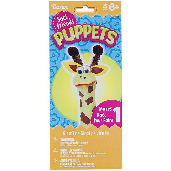 Sock Puppet Kit-Giraffe