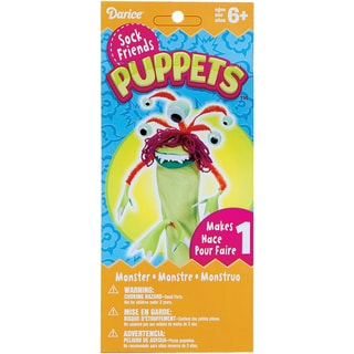 Sock Puppet Kit-Monster Three