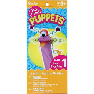Sock Puppet Kit-Monster Two