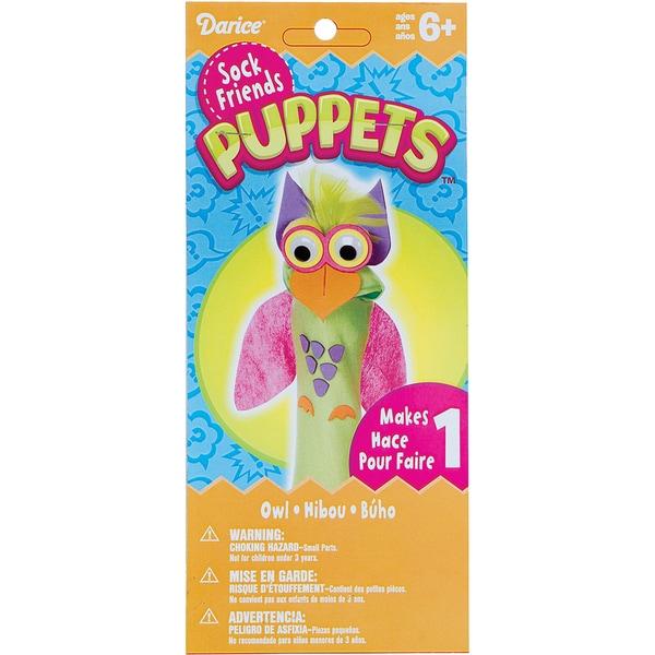 Sock Puppet Kit-Owl