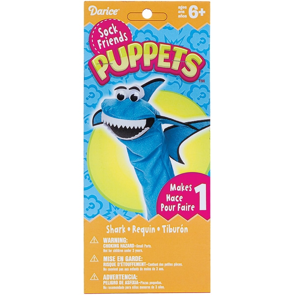 Sock Puppet Kit-Shark