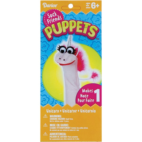 Sock Puppet Kit-Unicorn