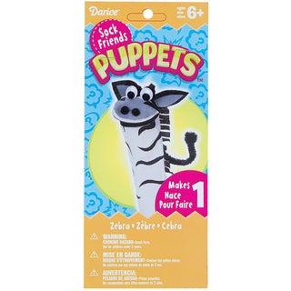Sock Puppet Kit-Zebra