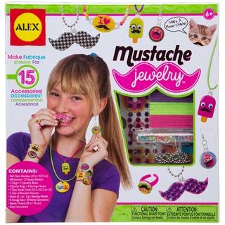 Mustache Jewelry Kit