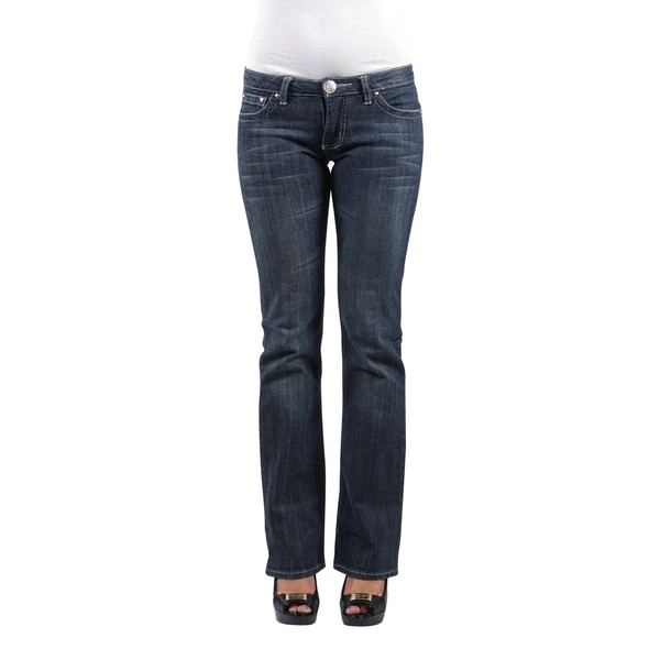 Boston Jean Company Women's 'Z-Jean' Low-rise Denim Jeans