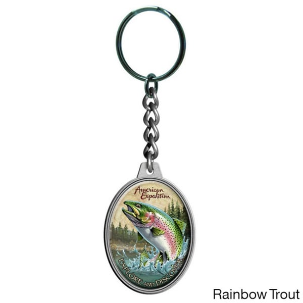 American Expedition Wildlife Keychain