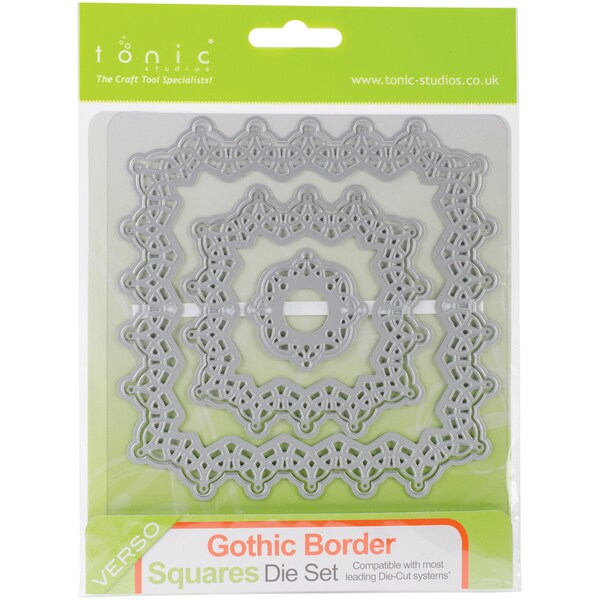 Tonic Studio Die-Gothic Borders Square