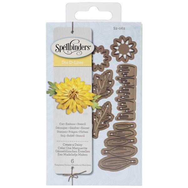Spellbinders Shapeabilities Die D-Lites-Create A Daisy