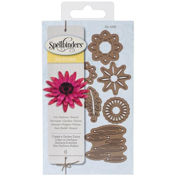 Spellbinders Shapeabilities Die D-Lites-Create A Gerber Daisy