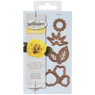 Spellbinders Shapeabilities Die D-Lites-Create A Rose