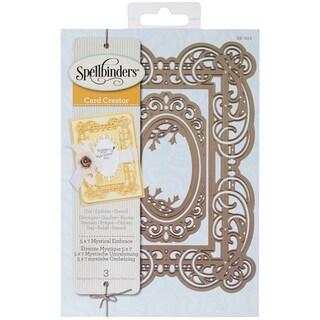 Spellbinders Nestabilities 5inX7in Card Creator Dies-Mystical Embrace
