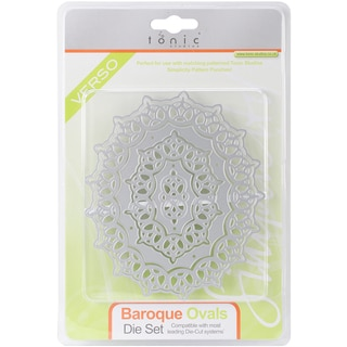 Simplicity Die Cutting Templates-Baroque Oval