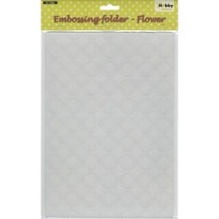 Nellie's Choice Embossing Folder A4-Gauze