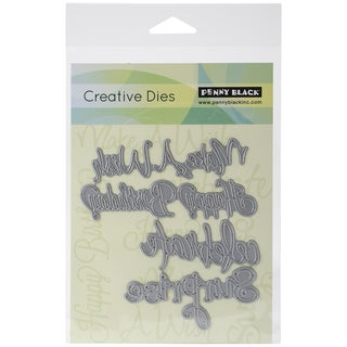 Penny Black Creative Dies-Celebrations, 4.2inX4.5in
