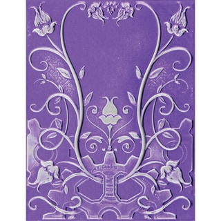Spellbinders M-Bossabilities 3D Embossing Folder-Floral Jewel