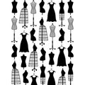 Embossing Folder 4.25inX5.75in-Dress Form Small