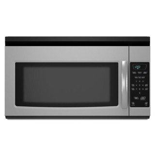 Amana 1.5-cubic-feet Over-the-Range Stainless Steel Microwave Oven