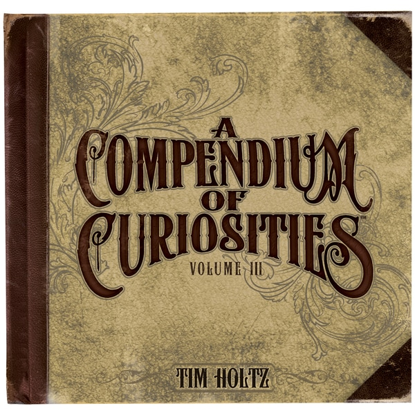 Tim Holtz Idea-Ology Book-A Compendium Of Curiosities Vol 3