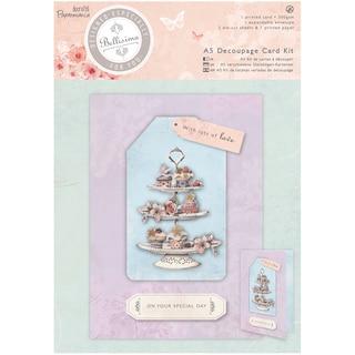 Papermania Bellisima Card Kit A5-Decoupage Cupcakes