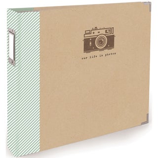 Teresa Collins Albums Made Easy 3-Ring Album 12inX12in-Snapshot