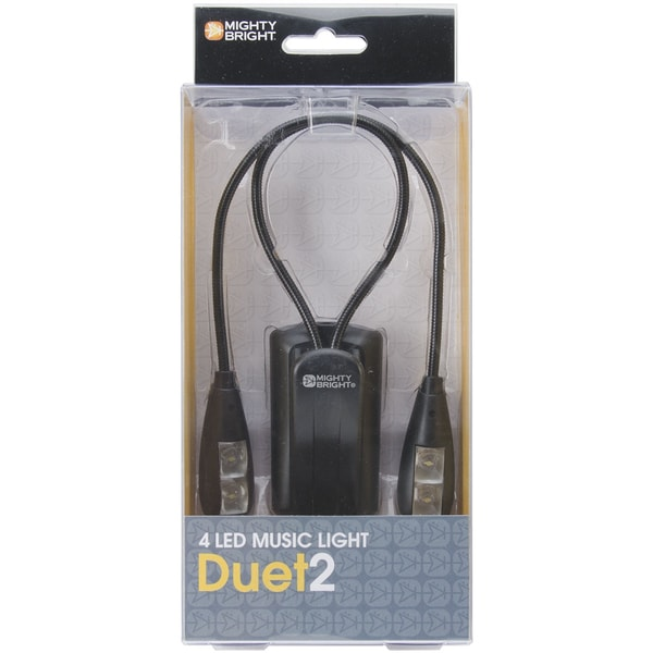 Mighty Bright Duet2 LED Music Light-Black