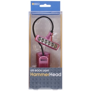 Mighty Bright HammerHead LED Book Light-Pink