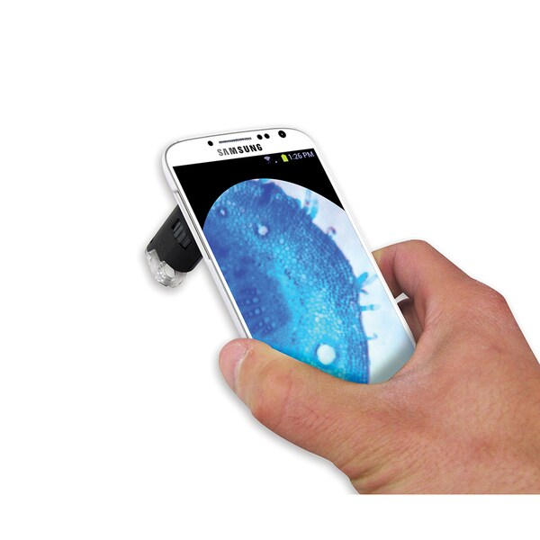 MicroMaxPlus LED Microscope For Galaxy S4 Mobile Phone