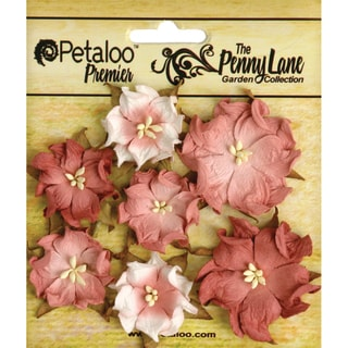 Penny Lane Mini Wild Roses 7/Pkg-Antique Rose