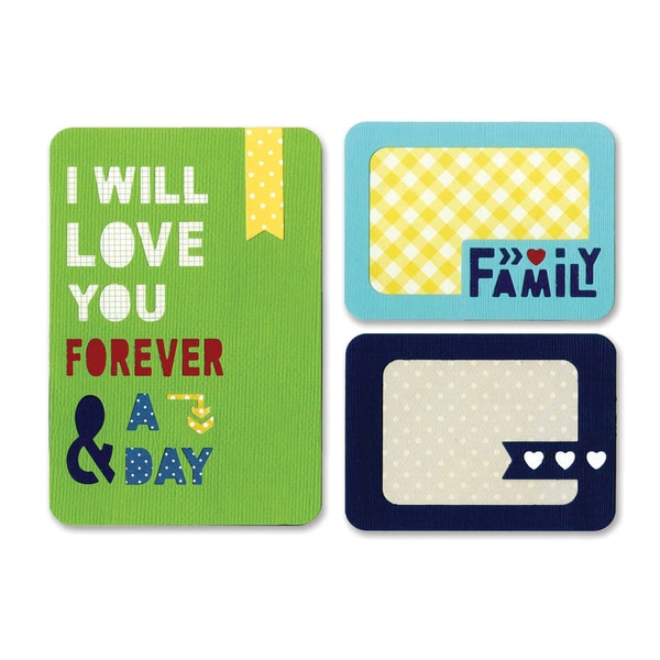 Sizzix Thinlits Dies 3/Pkg -Forever & A Day