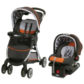Graco FastAction Fold Click Connect Travel System in Rollins