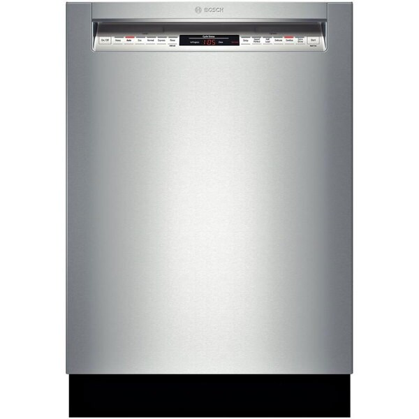 Bosch 800 DLX Series Built-in Stainless Steel Full Console Dishwasher
