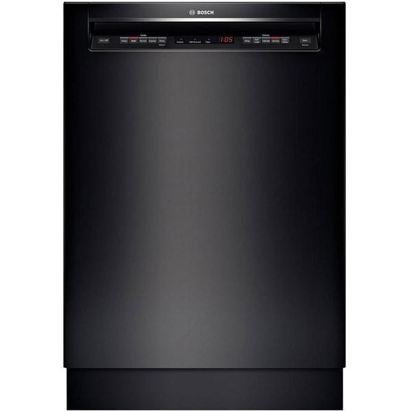 Bosch 500 Series Black Full Console Dishwasher