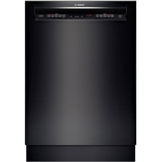 Bosch 500 Series Black Full Console Dishwasher