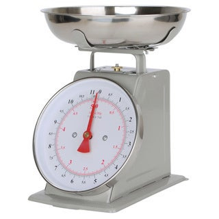 Alpine Cuisine Silver Stainless Steel Kitchen Scale