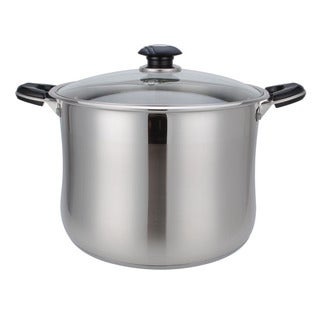 Alpine Cuisine Stainless Steel 11-quart High Pot