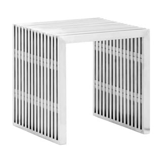 Zuo Novel Stainless Steel Single Bench