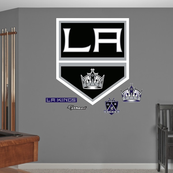 Fathead LA Kings Logo Wall Decal