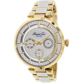 Kenneth Cole Women's KC4988 Two-Tone Stainless Steel Quartz Watch with Mother-Of-Pearl Dial