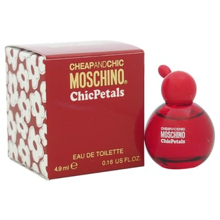 Moschino Cheap And Chic Chic Petals Women's 0.16-ounce Eau de Toilette Splash (Mini)