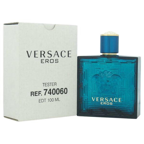 Versace Eros Men's 3.4-ounce Eau de Toilette Spray (Tester)