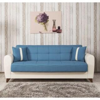 Bella Vista Prusa Blue Sleeper Sofa