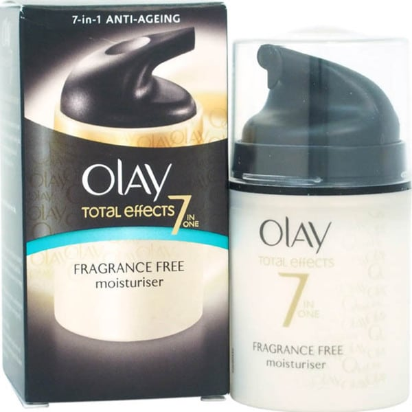Olay Total Effects 7 in 1 Anti-Aging Fragance Free Day Women's 1.7-ounce Moisturizer