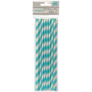Details Lined Paper Straws 24/Pkg-Pool